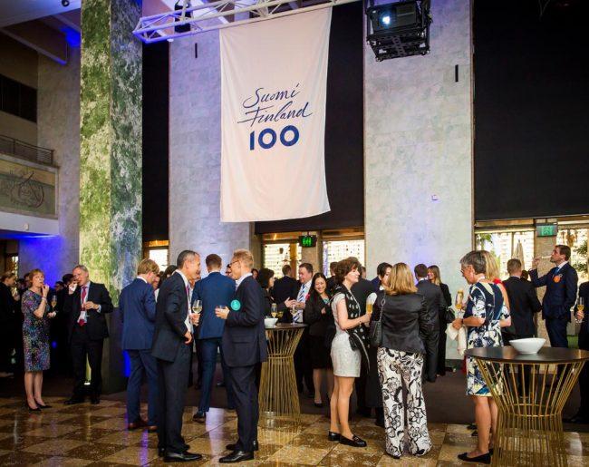 Finland Centenary Function