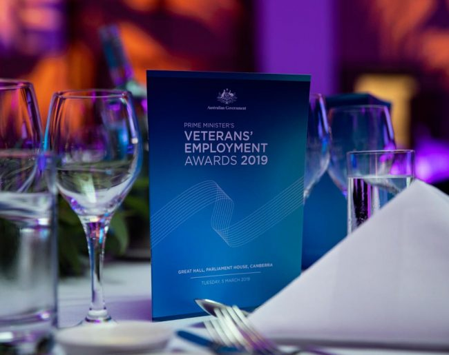 Prime Minister's Veterans Employment Awards